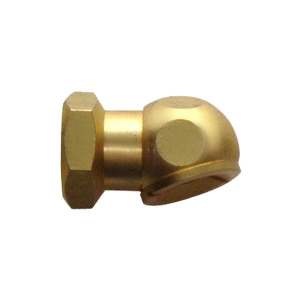 """1/4"""" FPT Angle Chuck w/ Clip (no lock) T04"""