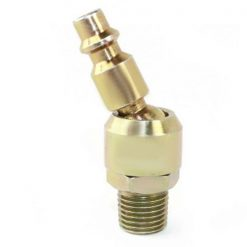 "1/4"" Male Industrial x 1/4"" MPT Swivel Plug CPHS441-D6"
