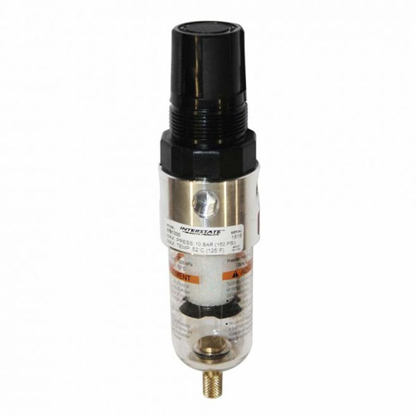 "1/4"" Mini Poly Bowl Combo Filter / Regulator w/o 160 PSI Gauge WB1330"