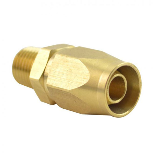 "1/4"" x 3/8"" NPT Male Hose-End HRPZ26-01"