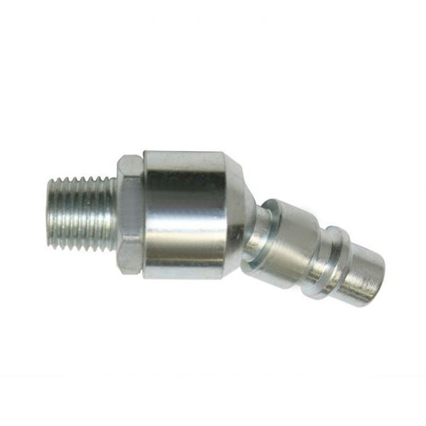 "3/8"" Male Industrial x 1/4"" MPT Swivel Plug CPHS641-D6"