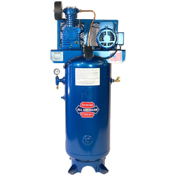 AAA 3HP 3PH K28 30 Gallon Vertical