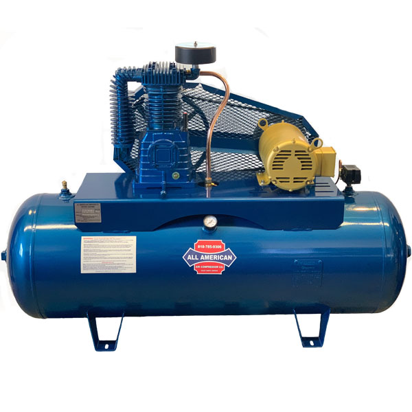 AAA 5HP 3PH K30 80 Gallon Horizontal