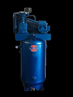 AAA 5HP 3PH 705 80 Gallon Horizontal