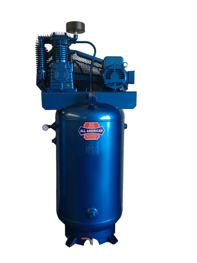 AAA 7.5HP 3PH E57 80 Gallon Vertical