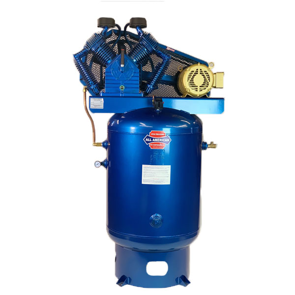 AAA 7.5HP 3PH 707 80 Gallon Vertical