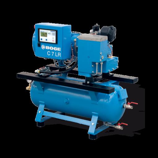 Boge 7.5 HP 80 Gallon | 1-3 Phase 208V | 125 PSI | MPCB-F | C7LRN