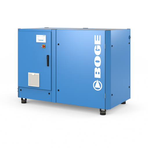 Boge 60 HP VFD 120 Gallon | 3-Phase 460-575V | 100-190 PSI | MPCF | SLF60-3NVFD