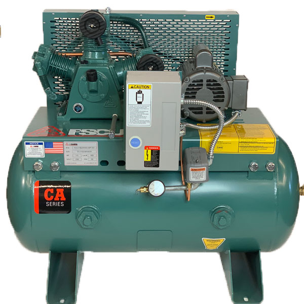 Curtis 5HP 80 Gallon 3Phase Simplex 8SN9 ES50 460V