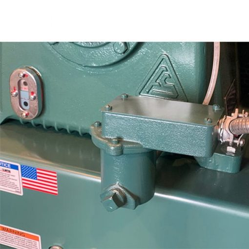 Curtis 5HP 80 Gallon | 18.5 CFM at 175 PSI | CA E57 3Phase Horizontal UltraPack 208-460V