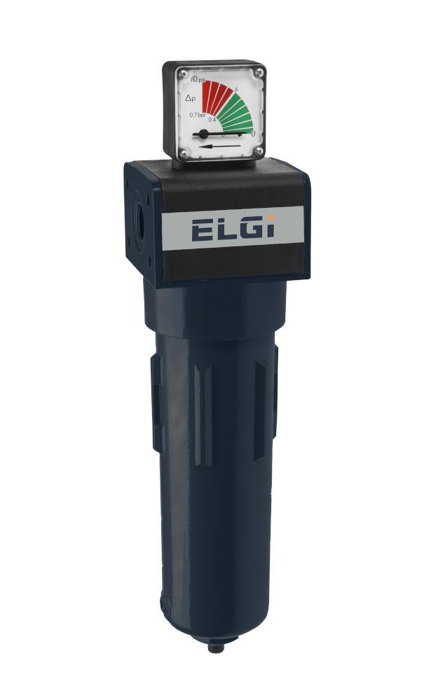 "ELGi 1/2"" Coalescing Filter 65SCFM EPFP65"