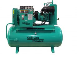 Palatek 25 HP | 200 Gallon | 3-Phase 200-575V | 125-150 PSI | Open-Encl | TEFC | Wye | D4-25