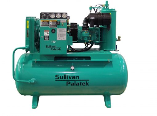 Palatek 25 HP | 200 Gallon | 3-Phase 200-575V | 125-175 PSI | Open-Encl | TEFC | Wye | D25