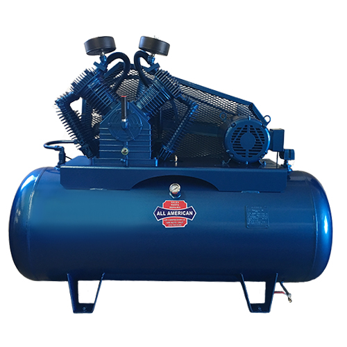 AAA 7.5HP 3PH E57 80 Gallon Horizontal