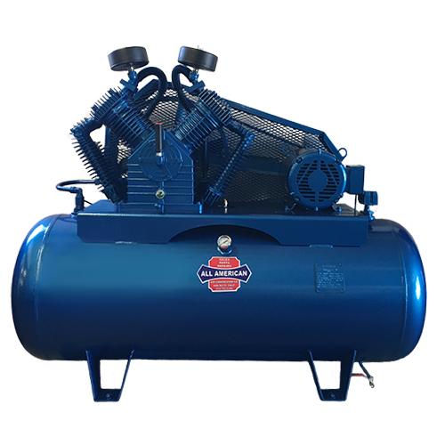 AAA 2HP 3PH 703 60 Gallon Horizontal