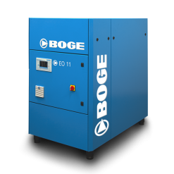 Boge 15 HP EO-Series | Oil-Free Scroll | 3-Phase 230-460V | 116-145 PSI | EO11