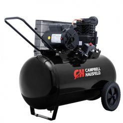 Campbell Hausfeld 3.7 HP 30 Gallon Horizontal Black