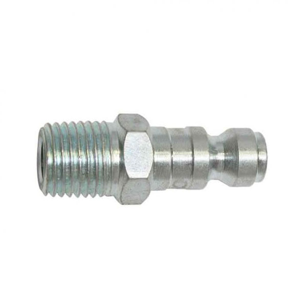 "CPA441 Z 1/4"" Automotive Steel Coupler Plug x 1/4"" Male NPT"