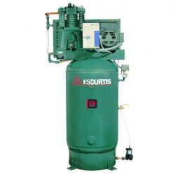 Curtis 5HP 80 Gallon | 18.5 CFM at 175 PSI | CA E57 3Phase Vertical UltraPack 208-460V