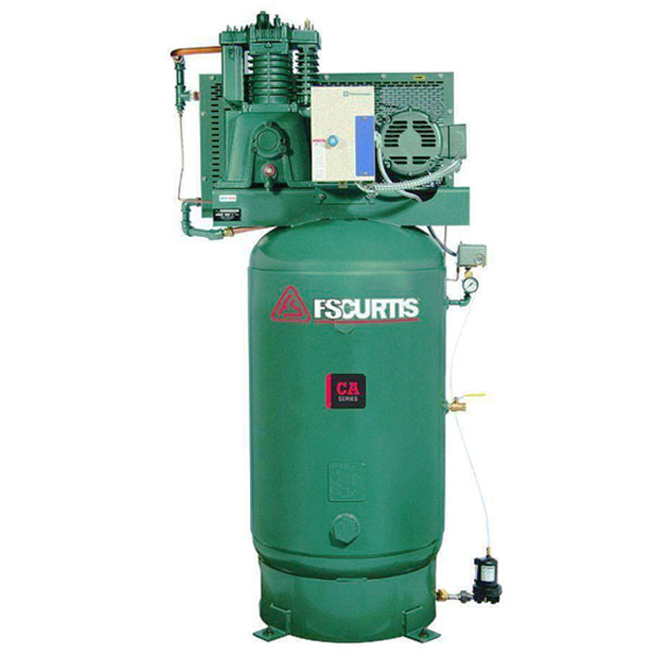Curtis 7.5HP 80 Gallon CA E57 3Phase Vertical UltraPack 208-460V