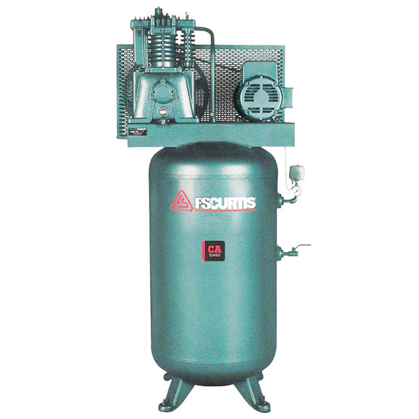 Curtis 7.5HP 80 Gallon CA E57 3Phase Vertical 208-460V