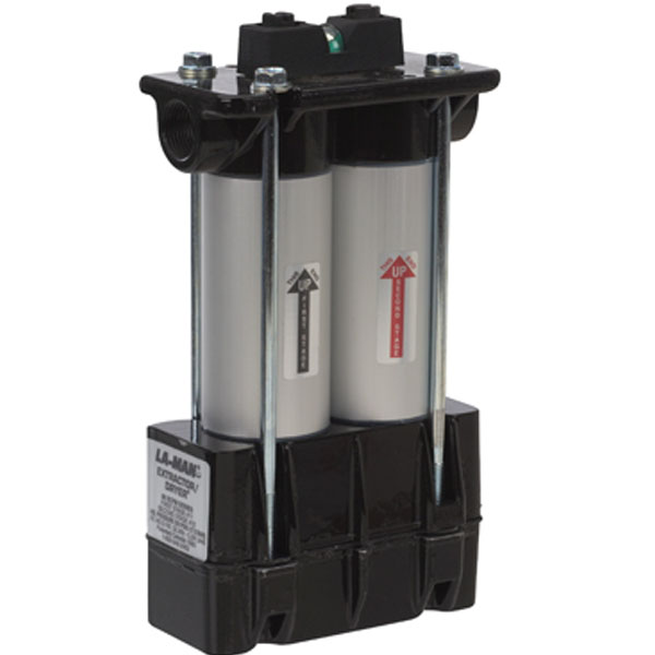 "Extractor Dryer 1/4"" 15 CFM Side Port W/ Autodrain #520BF"