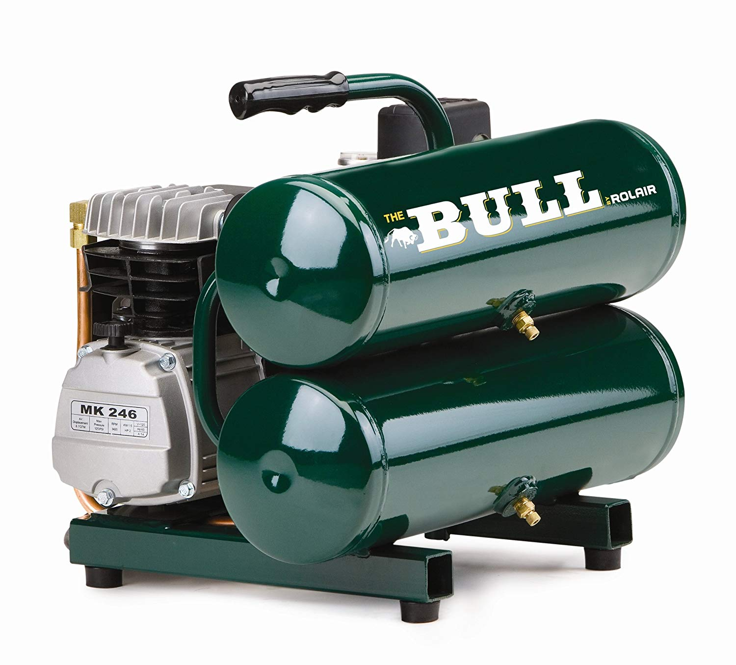 Rolair 2HP 4 Gallon Handcarry (BULL)