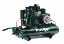 Rolair 2HP 8Gal Wheelbarrel Electric