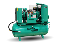 Palatek 25 HP | 120 Gallon | 3-Phase 200-575V | 125 PSI | Open-Encl | TEFC | Wye | DG25