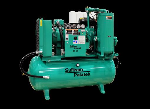 Palatek 25 HP | 200 Gallon | 3-Phase 200-575V | 125 PSI | Open-Encl | TEFC | Wye | DG25
